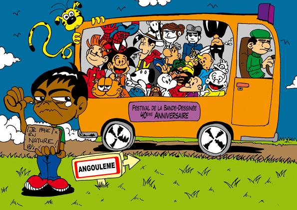 angouleme, bus magique, marsupilami, bagieu