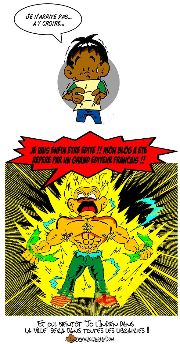 sangoku, super sayen, manga, parodie, dragon fall