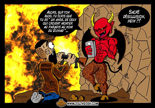 Mohammed Merah, djihad, blog, enfer